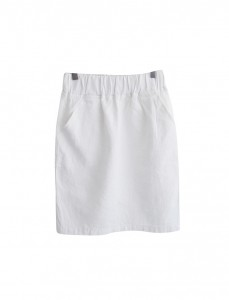 <br> Claire Linen H Banding Skirt <br ><br> [Return and exchanged products;