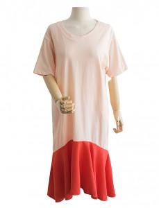 <br> Carbon color combination Freel Dress <br><br>