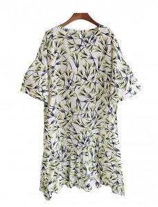 <br> Morning Glory Dress printing <br><br>
