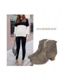 <br><br> Isabelle Suede Ankle Boots <br><br>