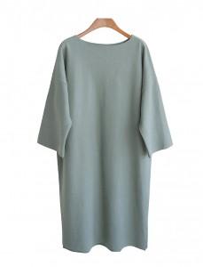 <br> Ephesus Boutique Wool Boat Neck Dress <br><br>