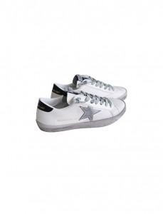<br> Golden Black Vintage Sneakers <br> [Not returned or exchanged;