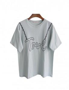 <br> True printing Cotton Tee <br><br>