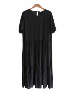 <br> Claire Shirring Long Dress <br> [Limited sale, not returned or exchanged;