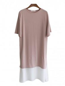 <br> Chiffon layered Long Dress <br><br>