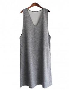 <br> Fede Aline Sleeveless shirts Dress <br><br>
