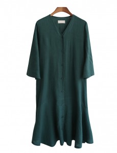 <br> Yeori yeori Button Linen Dress <br> <b><font color=#253952>Dress 1 above product</font></b>