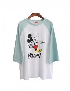 <br> Mint Mickey nagrang Tee <br><br>