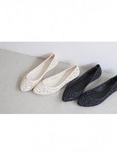 <br> Flower jelly shoes <br> [Not returned or exchanged;