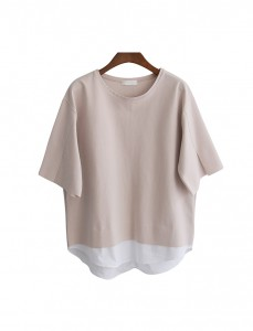 <br> Shirt layered Blouse <br> [Not returned or exchanged;