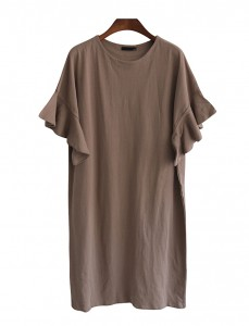 <br> Feminine Freel Cotton Dress <br><br>