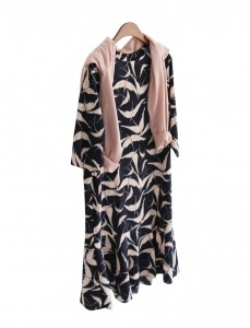 <br> Rank Patterns Flare Dress <br><br>