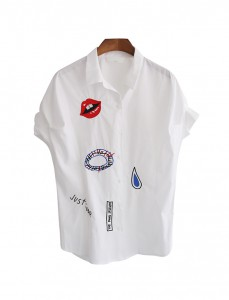 <br> [AR] Beautiful embroidered line Shirt <br><br>