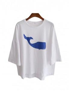 <br> Whale Slab Tee <br><br>