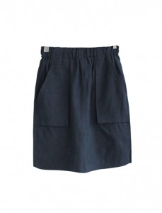 <br> Betty Pocket Linen Skirt <br> [Not returned or exchanged;