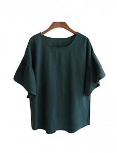 <br> Lilac Freel Linen Blouse <br> <b><font color=#253952>Blouse 3rd place</font></b>