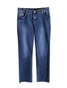 <br> Good Luck Falling Denim Banding Pants <br> Denim 4th place product