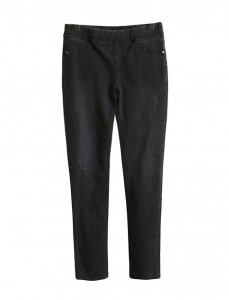 <br> Daily Black Banding Skinny Denim Pants <br><br>