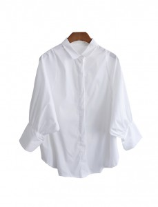 <br> Blair Balloon Sleeve Blouse <br> <b><font color=#253952>Blouse 2nd place item</font></b>