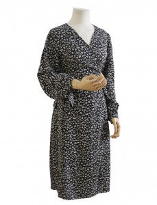 <br> [AR] Calm Patterns Wrap Dress <br> [Not returned or exchanged;