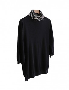 <br> Slit Round 5 Knit <br> [Not returned or exchanged;