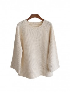 <br> Honeycomb Round Knit <br><br>