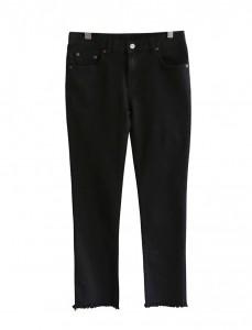 <br> Tassel Black Denim napping Pants <br><br>