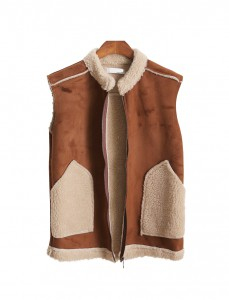 <br> Mustang Zip up Vest <br> [Not returned or exchanged;