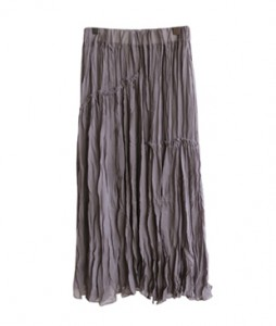 <br> Wrinkle key point Banding Skirt <br><br>