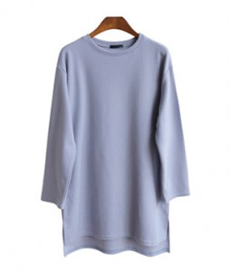 <br> Course Long Tee <br> <b><font color=#253952>TOP 4th item</font></b>