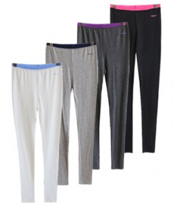 <br> Lyocell Color Banding Leggings <br><br>