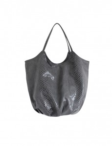 <br> Snake skin Round Bag <br> <b><font color=#253952>Shoes & Bag 3rd place</font></b>