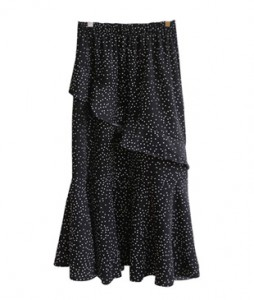 <br> Dot Freel Banding Skirt <br> <b><font color=#253952>1st item in skirt</font></b>