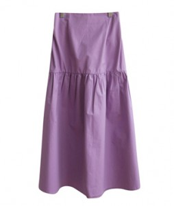 <br> Cotton Shearing Rear Banding Long Skirt <br><br>
