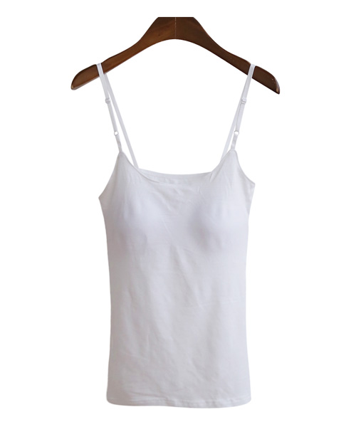 <br> Adjustable cap straps Sleeveless shirts <br><br>