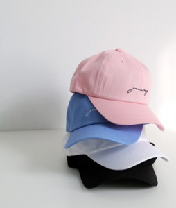 <br> Embroidery Lettering Hat <br><br>