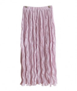 <br> Wave Wrinkle Banding Skirt <br><br>