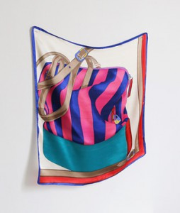 <br> Color Beautiful Silk Scarf <br> [Not returned or exchanged;