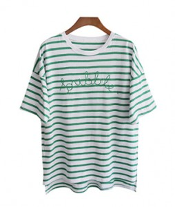 <br> Bubble Dangara Embroidery Tee <br><br>