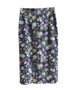 <br> Garden Party Rear Banding Skirt <br> <b><font color=#253952>Skirt 4th item</font></b>