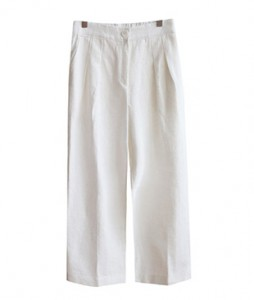 <br> luck rear banding Linen pants <br> [Not returned or exchanged;