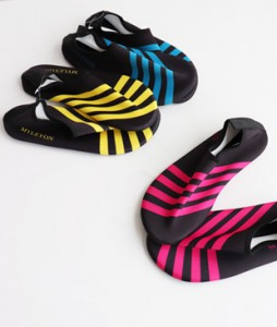 <br> Stripe Aqua Shoes <br><br>
