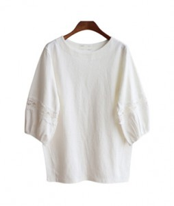 <br> Balloon Sleeve Race Tee <br><br>