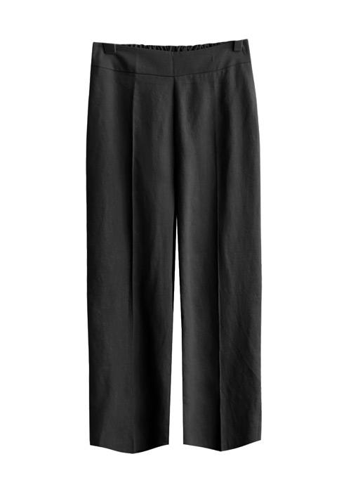 <br> Melen Linen Part 9 Banding Pants <br><br>