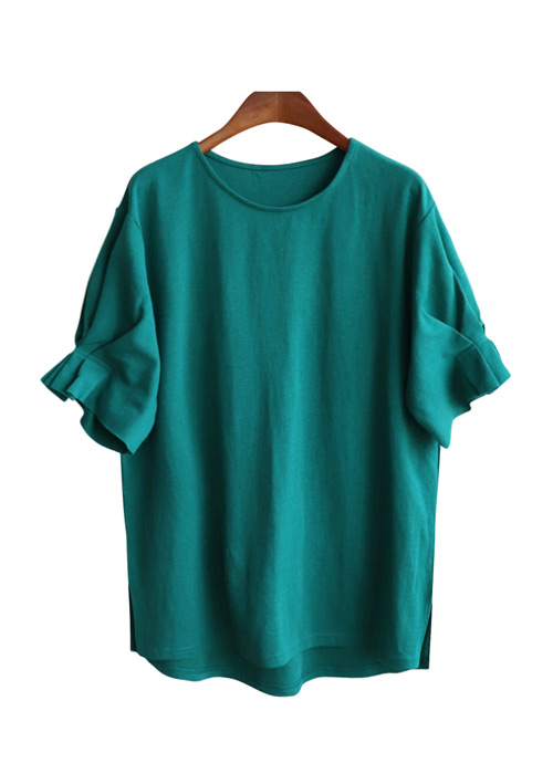 <br> Bailey Retail Shirring Tee <br><br>