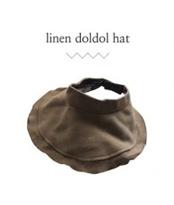 <br> Linen Circle Hat <br><br>