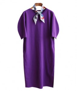 <br> Half Moon Sleeve Dress <br><br>