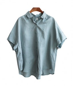 <br> Kara Linen Blouse <br> [Not returned or exchanged;