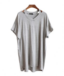 <br> Neckline Long Tee <br><br>