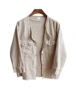 <br> Linen Touch Surgical Jacket <br> <b><font color=#253952>Outer 1st item</font></b>